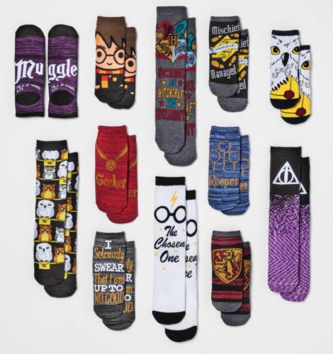 12 Days of Socks Harry Potter advent calendar. Trending hot item on eBay. For wo...
