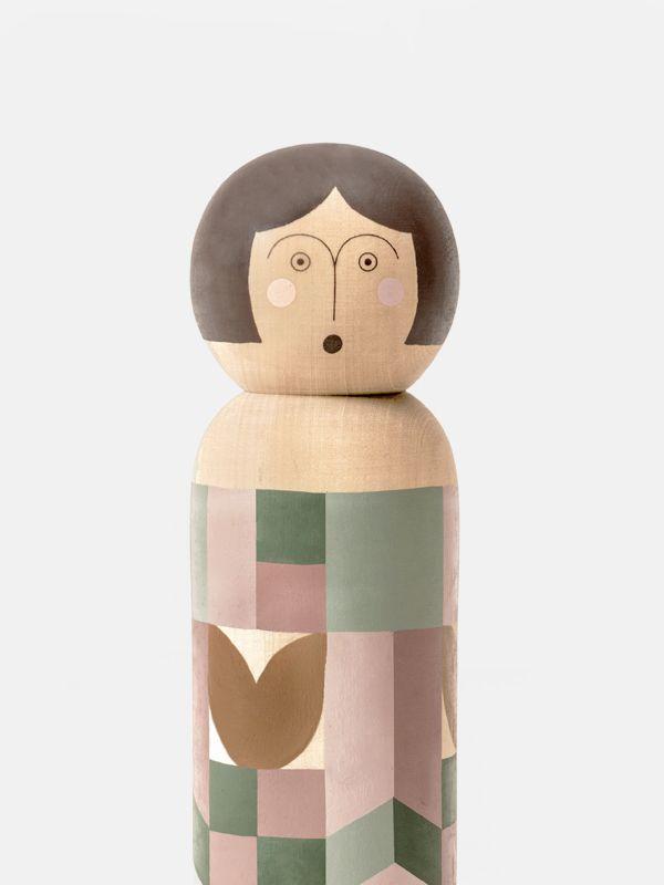Hand-painted Kokeshi Doll - Fanny & Alexander at moonpicnic.com