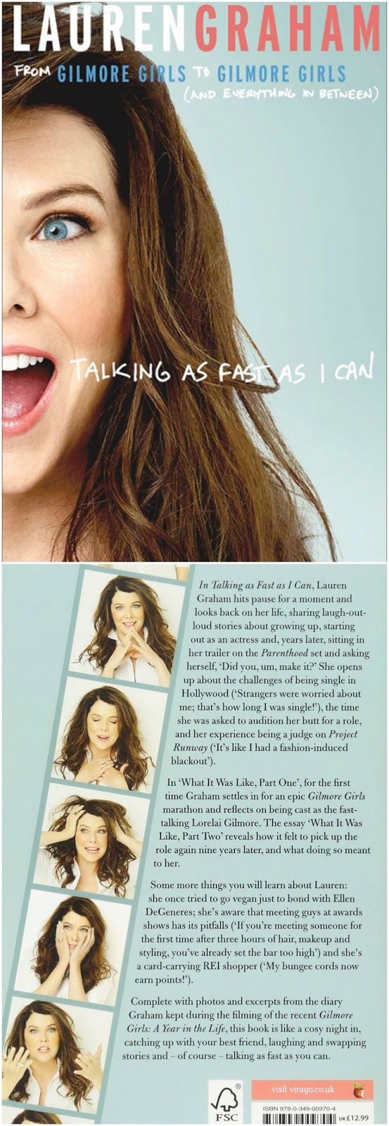 Talking as Fast as I Can: From Gilmore Girls to Gilmore Girls (And Everything in...