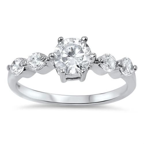 A Perfect 1.6CT Round Cut Solitaire Russian Lab Diamond Engagement Wedding Anniv...
