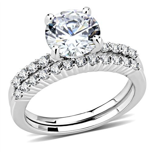 A Perfect 2CT Round Cut Russian Lab Diamond Solitaire Engagement Wedding Band Br...