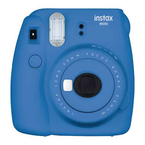 Cobalt Blue Fujifilm Instax Mini 9 Instant Camera. Cool tech gifts for teens. Ch...