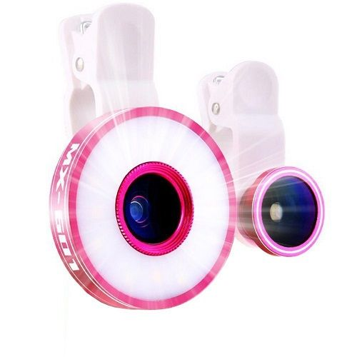 Selfie Light and Lens Phone Camera Kit. Tech gifts for teens. Christmas Gifts fo...