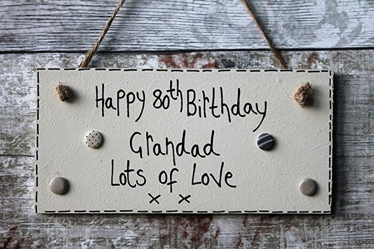 Birthday Gifts Madeat94 Handmade Personalised Happy Birthday