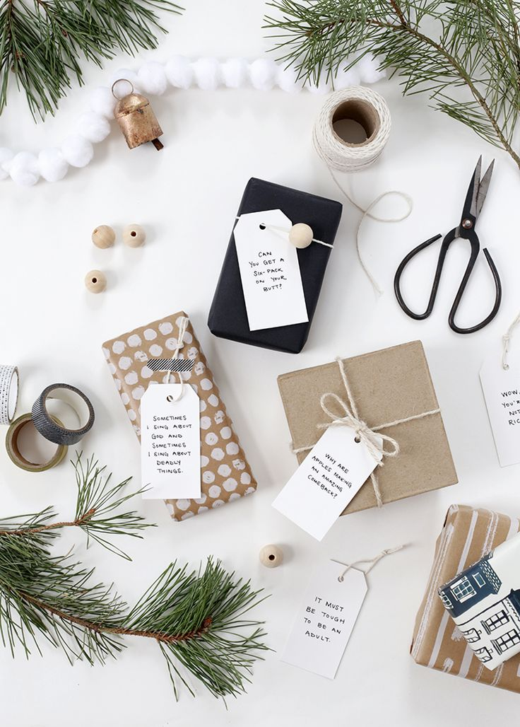 DIY Quote Gift Tags » The Merrythought