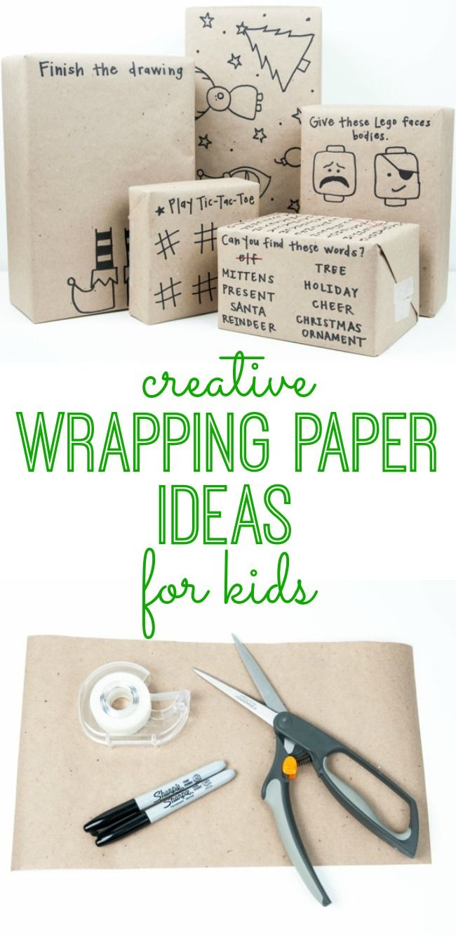 DIY Gift Wrapping Ideas : Make wrapping paper as much fun as the ...