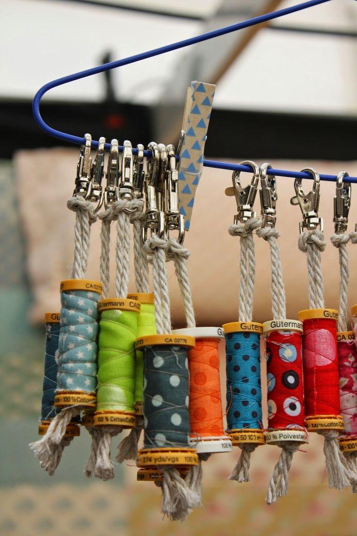 Porte-clés pour couturières!...