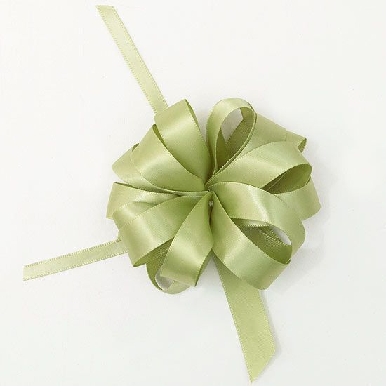 Add a hand-crafted bow to adorn your gift.