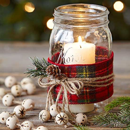 For a Mason jar gift you can make in bulk, try these easy candles.