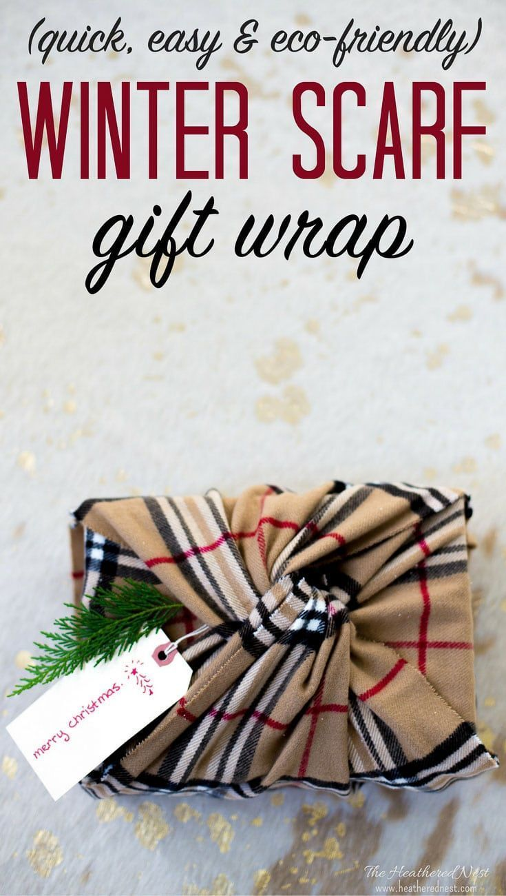 AWESOME Christmas wrapping idea! Not only is it gorgeous, it's eco-friendly | su...