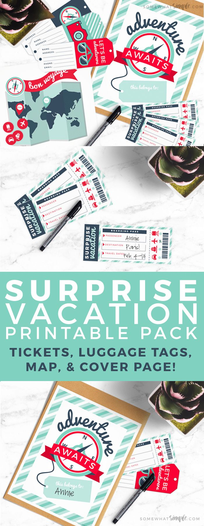 Looking to gift someone with asurprise vacation? Then we've got the perfec...