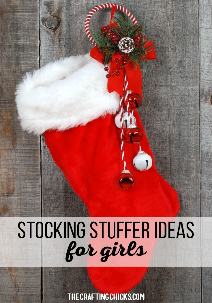Stocking Stuffer Ideas for Girls. This list is packed with the best ideas. #stoc...
