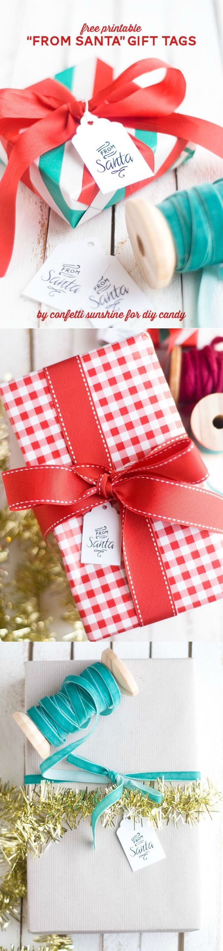 These cute printable gift tags that say