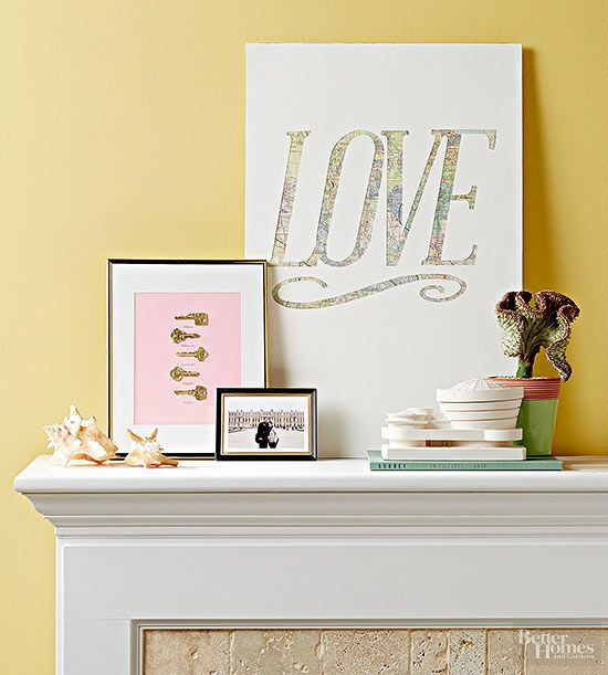 DIY Gifts : Memorialize a romantic location - like where you met ...