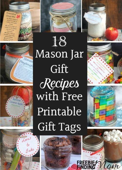 Need thoughtful, homemade, inexpensive gift ideas? Mason jar gift recipes make g...