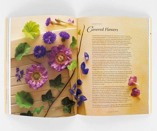 DIY Gifts : Pressed flowers preserve a moment in time ...