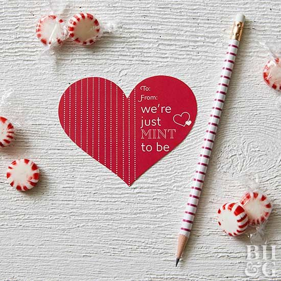 Skip the store-bought Valentine's Day cards and show your sweetie some love ...