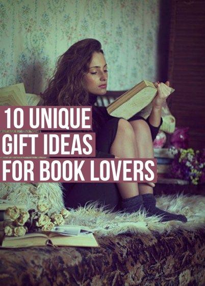 10 Unique Gift Ideas For Book Lovers - Society19