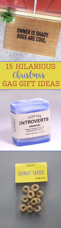 15 Hilarious Christmas Gag Gift Ideas - Society19