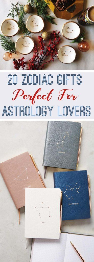 20 Zodiac Gifts Perfect For Astrology Lovers - Society19