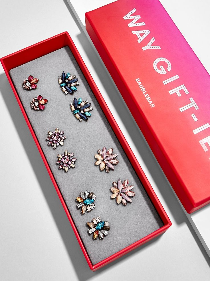 Party Stud Earring Gift Set #gift #holiday #christmas #gifts