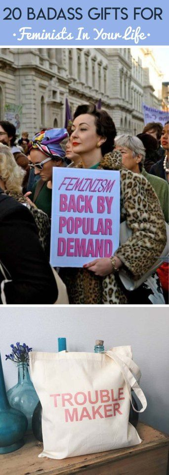 These are the most badass gifts for feminists that you need to check out!