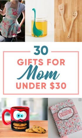 These gifts for your mom are so cute!