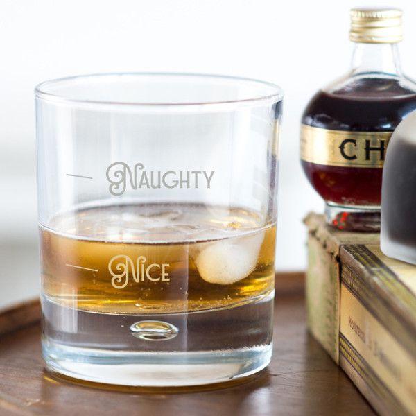 Naughty or Nice Whisky Tumbler