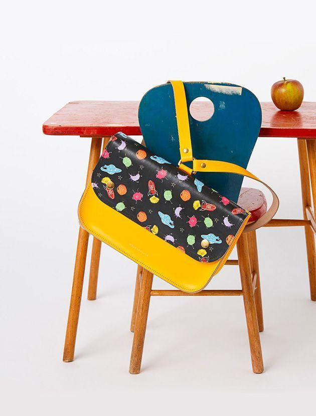 Honey & Toast leather school satchel   moonpicnic.com