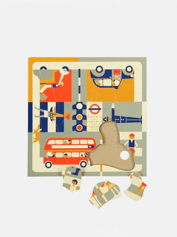 Multi-view Puzzle – London by Fredun Shapur