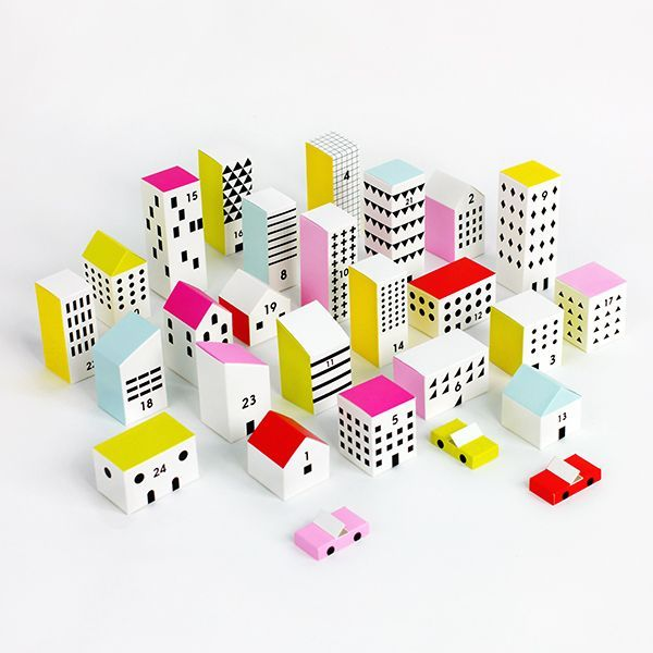 Paper Advent City