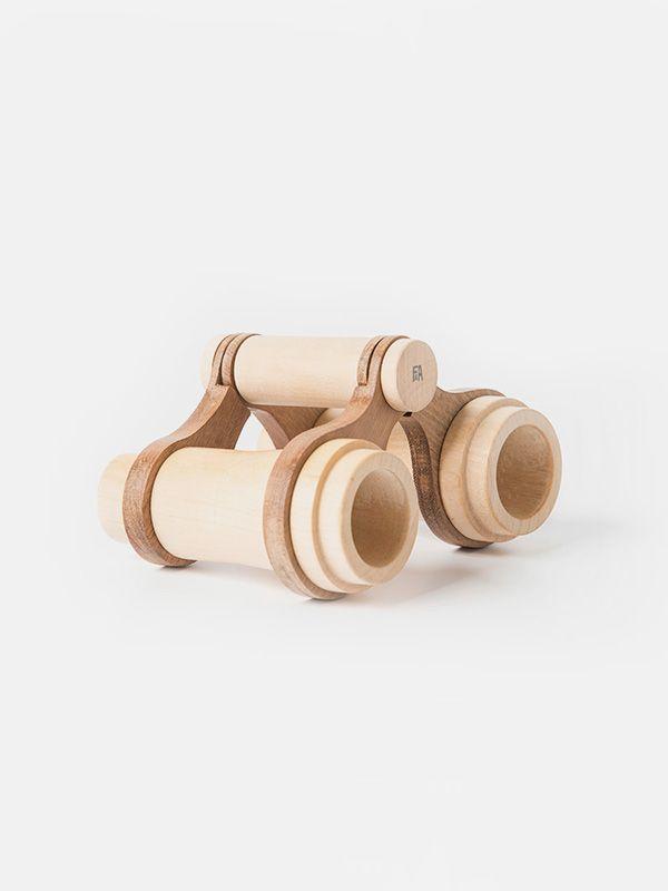 Wooden binoculars by Fanny & Alexander