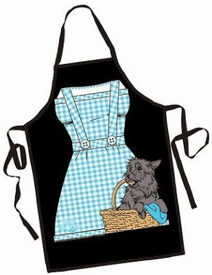 Culinary Favorites From A to Z: Wizard of Oz Apron...use it as a Halloween costu...