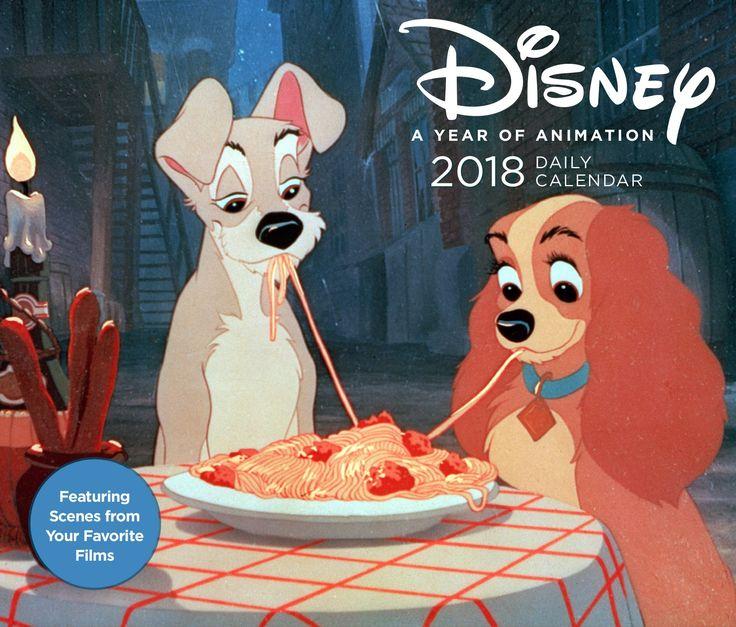 Disney 2018 Daily Calendar: Disney: A Year of Animation. #Disneygifts #calendars...