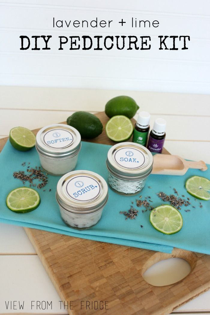 Mom Birthday Gifts Great Gift Idea Lavender Lime Diy Pedicure Kit Perfect For Mothers D
