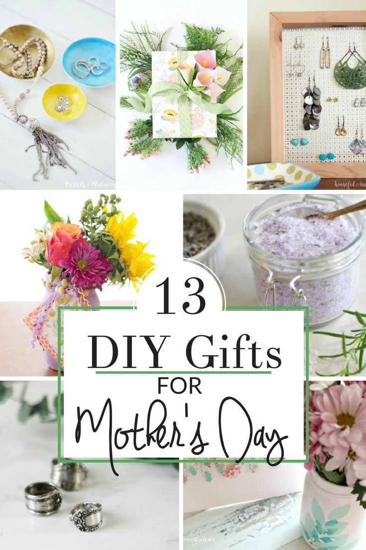 Make one of these special gifts for mom .  These are 13 of my favorite handmade ...