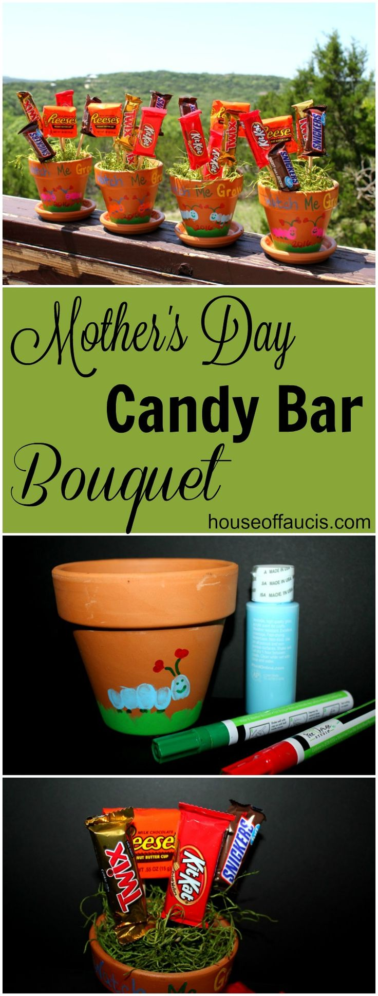 Mom Birthday Gifts Mothers Day Candy Bar Bouquet