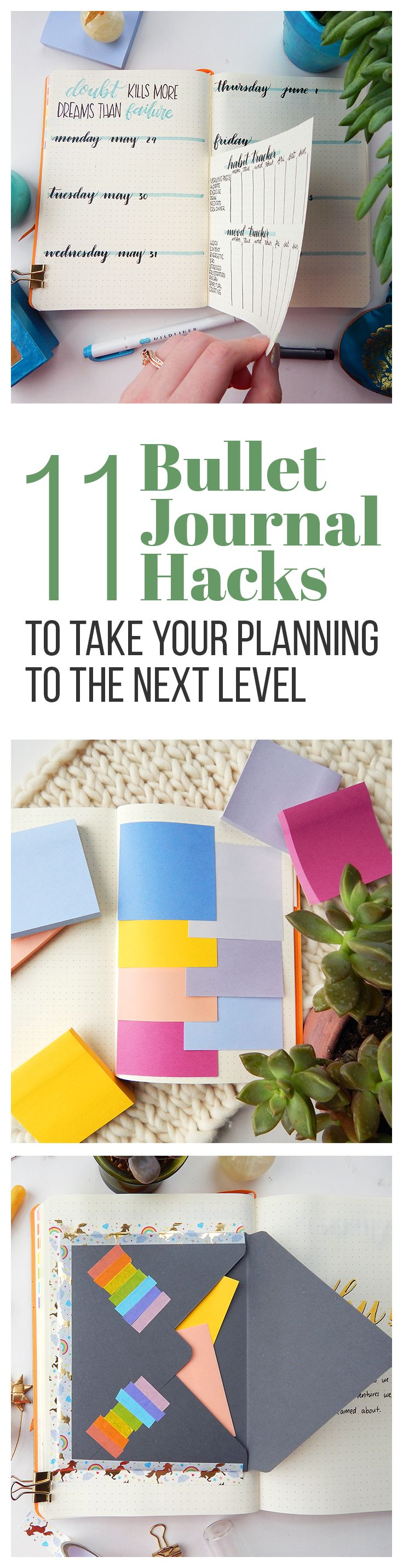 There are plenty of ways to use your bullet journal for productivity, but these ...