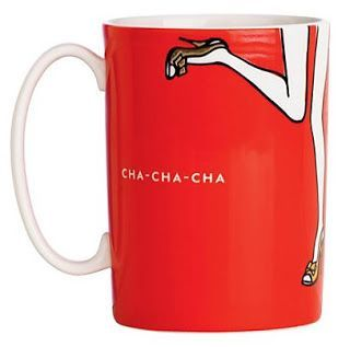 Treasures By Brenda: Kate Spade Things We Love Coffee Mug. CHA CHA CHA. Perfect ...