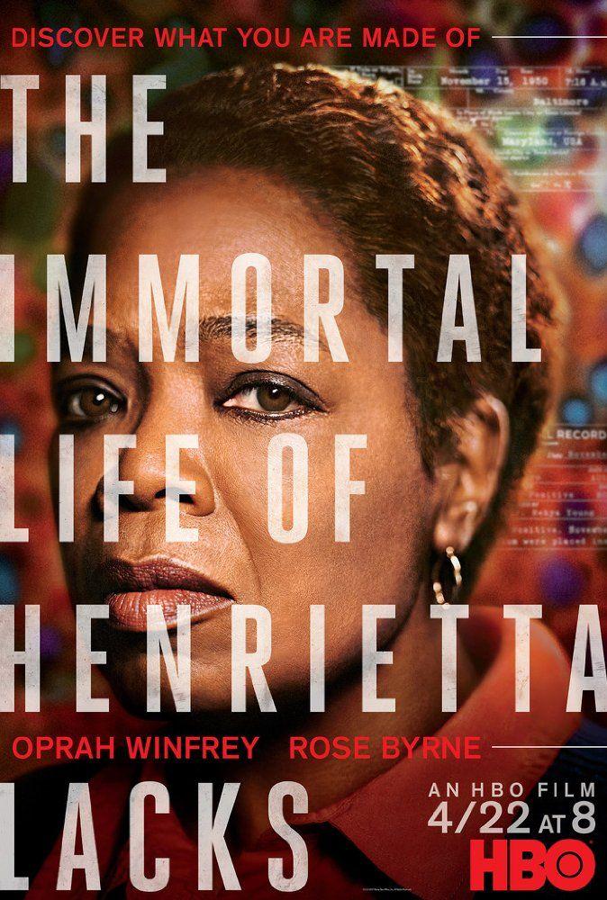 True story HBO movie starring Oprah Winfrey: The Immortal Life of Henrietta Lack...