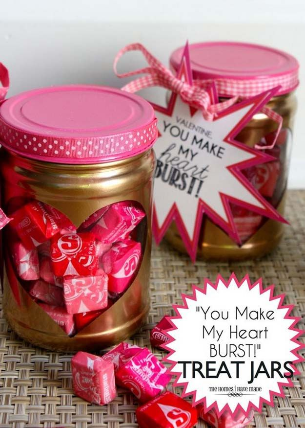 Valentines Day Gifts Best Mason Jar Valentine Crafts