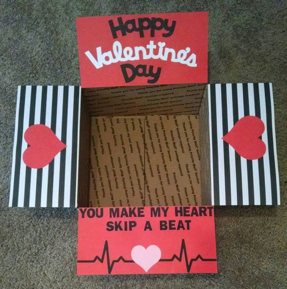 Valentines Day Gifts Care Package Box Kit Valentines Day By