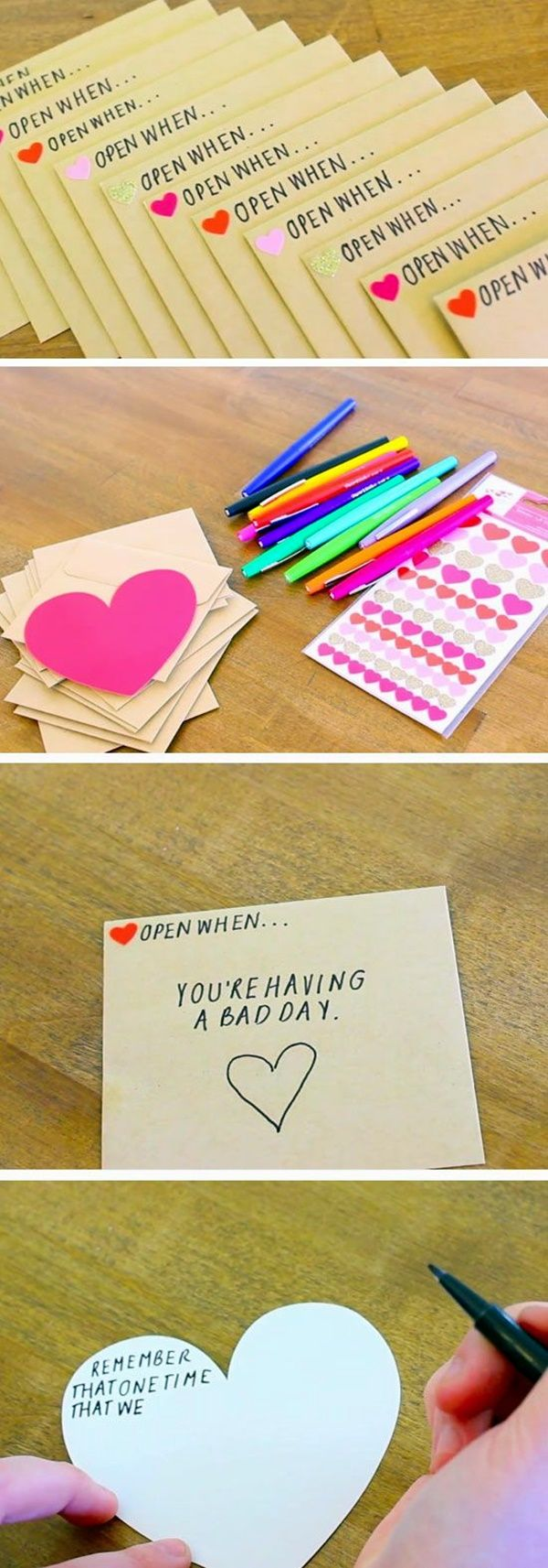 Now here is a Homemade Valentines Day Ideas for Him that could probably be used ...