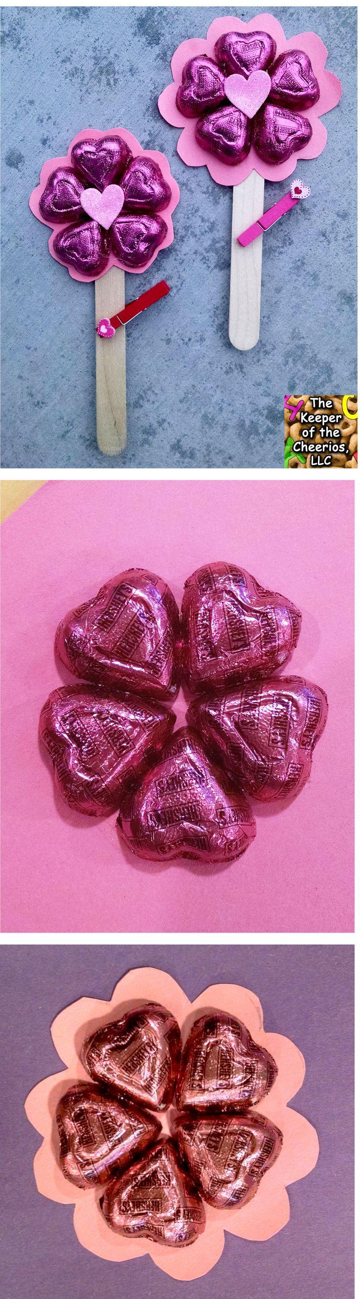 Valentines Day Flower Treat