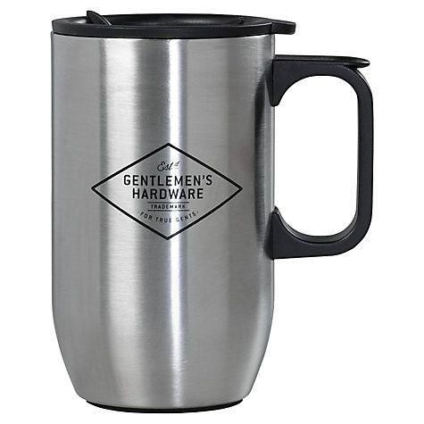 Buy Gentlemen's Hardware Stainless Steel Travel Mug Online at johnlewis.com