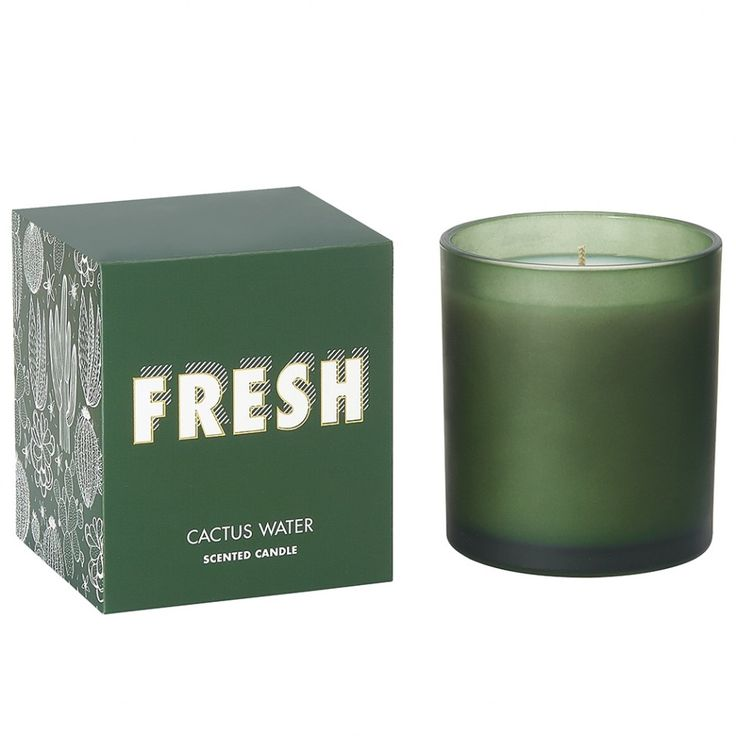 Fresh cactus water scented candle