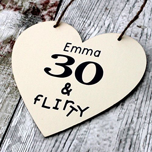 Birthday Gifts Customized Mom 30th Gift Heart Sister