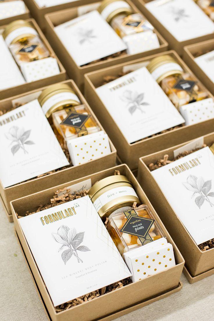 Washington DC Spa Themed Corporate Gift Boxes. Marigold & Grey creates artisan g...