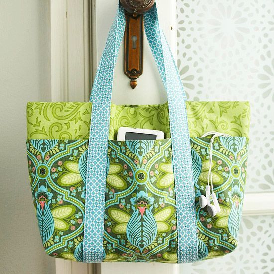 Learn how to make this amazing bag that holds it all. This bag is great for so m...