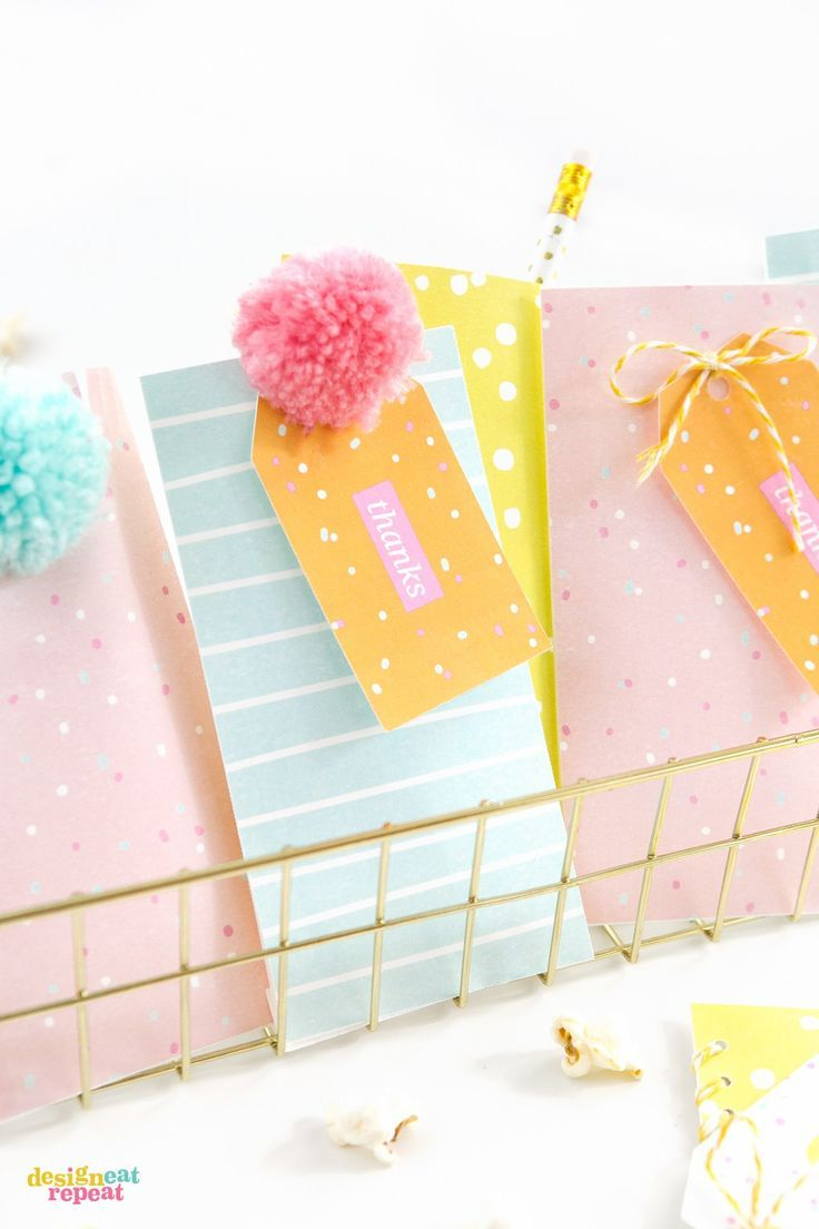 Diy gift wrapping ideas download these fun colorful printable diy gift wrapping ideas negle Images